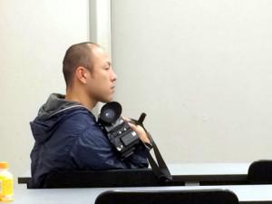 西予CATVのカメラマン